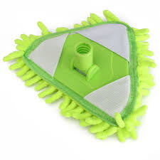 Floor Dry by 360 Rotating Spin Handle Magic Head Floor Dry Water Mop Washable