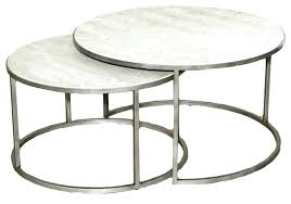 round wood and metal side table silver metal coffee table beautiful round coffee table metal