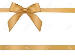 gold satin ribbon shiny gold satin ribbon on white background vector royalty