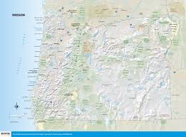 Usa Tourist Attractions Map by Oregon Map Oregon State Map Oregon State Road Map Map Of Oregon