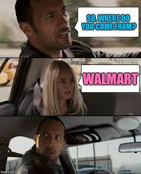 Where Memes Come From - the rock driving meme imgflip