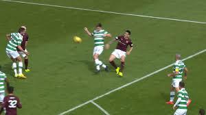 Penalty Flag Football Celtic U0027s Scott Brown Slams Jamie Walker A U0027cheat U0027 After Hearts