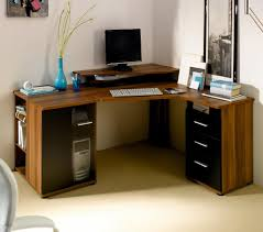 Cheap Black Corner Desk Small Corner Desk With Storage Triangle White Finish Wooden Corner