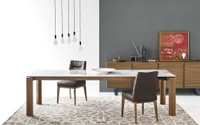 Large Wood Dining Room Table Omnia Large Wood Dining Table By Calligaris