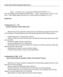 Keywords For Executive Assistant Resume Administrative Assistant Resume 14 Free Word Pdf Psd
