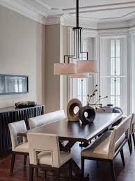 Dining Room Table With Bench And Chairs Contemporary Dining Benches 16 Wondrous Design With Modern Dining