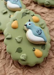 the twelve days of christmas cookie project a partridge in a pear