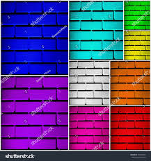 colored walls wall collage 9 colored walls different stock photo 164498609