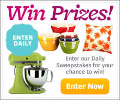 Kitchen Makeover Sweepstakes - sweepstakes winners circle