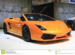 voiture de sport lamborghini salon d u0027automobile de bangkok de voiture de sport de lamborghini