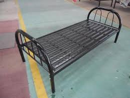 14kgs metal single bed with 9 strips cheap metal bed frame