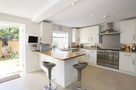kitchen diner extension ideas combine the kitchen with the dining to obtain space for