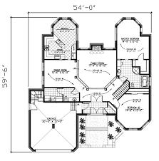 bungalow plans valuable ideas 11 luxury bungalow house floor plans plan 48000 at