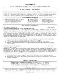 managment resume project manager resume berathen com
