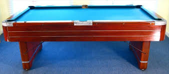 Valley Pool Tables by Igavel Auctions Mahogany Pool Table American Mid 20th C By