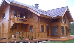 residential log homes finestam log cabins uk