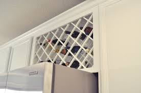 Kitchen Wine Cabinets by Awesome Kitchen Wine Racks Featuring Brown Laminated Wooden Bottle