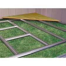 storage building floor plans amazon com arrow sheds fb5465 floor frame kit for 5 u0027x4 u0027 u0026 6 u0027x5