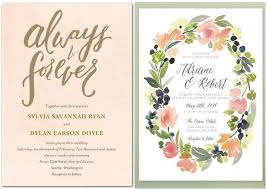 Wedding Invitation Design Watercolor Wedding Invitations Reduxsquad Com