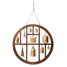 amazon com circle of bells indoor outdoor wind chime patio