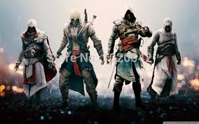 assassins creed ii wallpapers free shipping game poster assassins creed 2 wallpaper wall decor