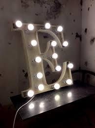 Neon Decoration Interieur Giant Neon French Vinatege Letter E In Decorative