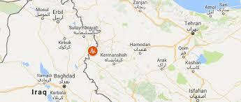 map iran iraq iran iraq earthquake cenesta