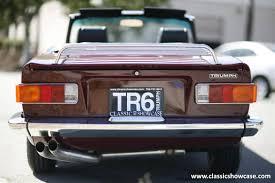 Tr6 Interior Installation 1969 Triumph Tr6 For Sale 467493 Hemmings Motor News