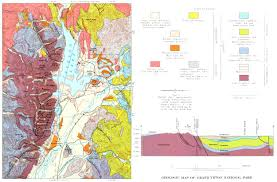 Great Basin National Park Map Creation Of The Teton Landscape The Geologic Story Of Grand Teton