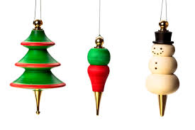 combine our ornaments with your woodturned to make