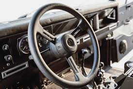 land rover steering wheel land rover defender 90 gets restomodded by icon video