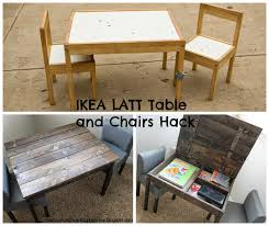 Ikea Storage Bench Hack Ikea Hack Latt Table And Chairs Turned Storage Table Getting