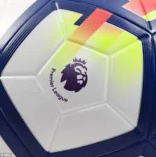 nike ordem v to be 2017 2018 premier league ball daily mail online
