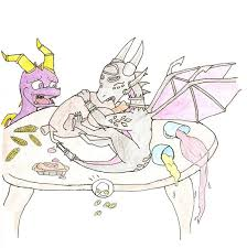 spyro thanksgiving by jonas sloth on deviantart