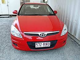 hyundai hatchback hatchback hyundai i30 2009 red for sale 7 490 used vehicle sales