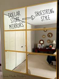 Living Room Mirror by Tightwad Tuesday 6 Mirror From The Dollar Store Dollar Stores