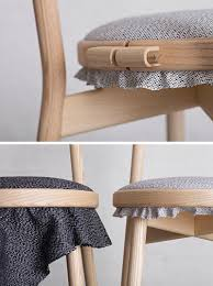 Swedish Chairs Design An Embroidery Ring Allows The Upholstery To Easily Be Changed Out