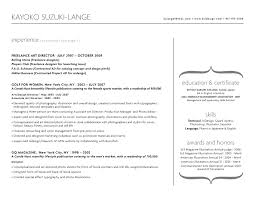 Freelance Artist Resume Graphic Design Portfolio U0026 Resume