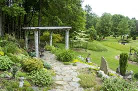 Garden by Bedrock Gardens Bedrock Gardens A Beautiful New England Garden