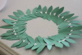olympic olive wreath craft i can teach my child
