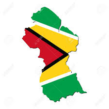 Guyana Map Guyana Map Flag Stock Photo Picture And Royalty Free Image Image