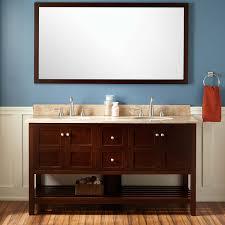 Wenge Bathroom Mirror 60 Everett Vanity For Undermount Sink Wenge Bathroom