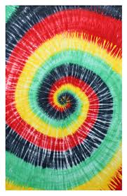 amazon com rasta spiral tie dye tapestry hanging wall art great