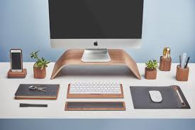 Mac Desk Accessories Grovemade Wooden Iphone Cases Desk Mac Accessories