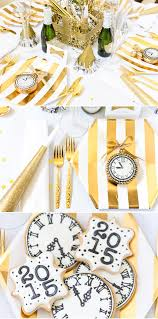 New Years Eve Table Decorations Decoart Blog Entertaining Homemade New Year U0027s Eve Party Ideas