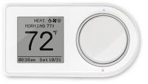 lux products geo wh wi fi thermostat white works with amazon