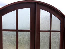 interior double glass doors arched interior glass french doors
