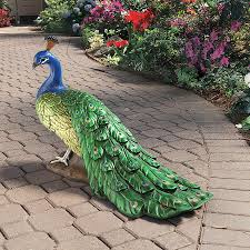 Regal Home And Garden Decor Peacock Garden Decor U2013 Home Design And Decorating
