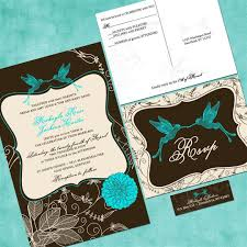 Affordable Wedding Invitations With Response Cards Hummingbird Garden Custom Wedding Invitation Suite With Rsvp