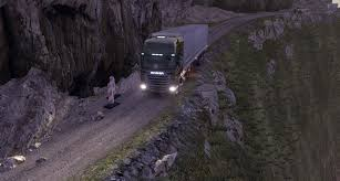 Truck Route Maps by Danger Roads Euro Truck Simulator 2 Youtube